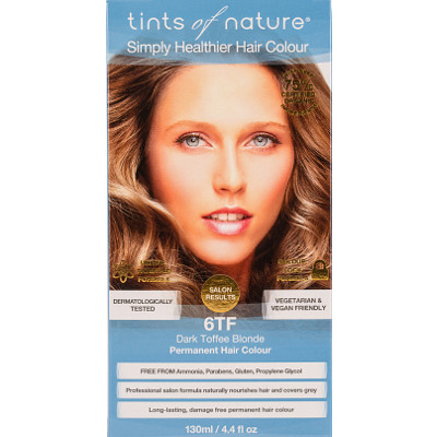 Tints Of Nature Haarfarbe Permanent 6tf Dunkelblond Toffee